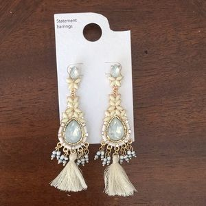 🌺NWT So Brilliant Tassel Hanging Earrings 🌺
